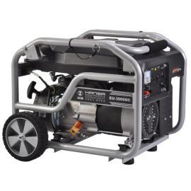 三个千瓦规格汽油发电机小型家用EU-3000DC现货