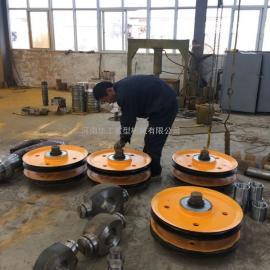 16吨起重铸钢滑轮组 建筑吊塔用滑轮组 钢丝绳滑轮组 轮片