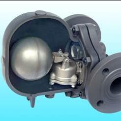 ft44杠杆浮球式疏水阀 不锈钢法兰大体疏水阀图片