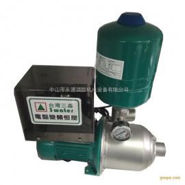 0.55W变频泵MHI204卧式单泵组装背负式恒压供水泵
