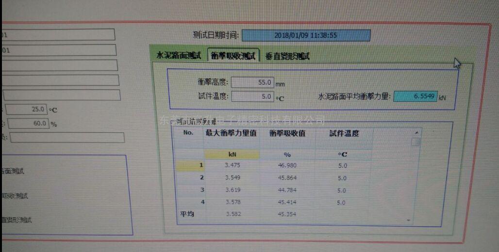 供应塑胶跑道冲击吸收与垂直变形试验机 BS EN14809-2005