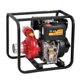 汉萨柴油四寸高压水泵110m3流量抽水机