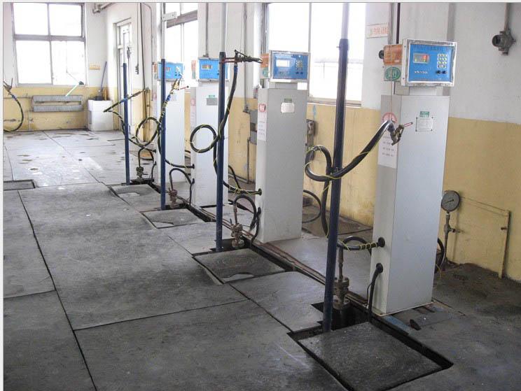定量二氧化碳灌装秤 丙烷气体充装电子磅