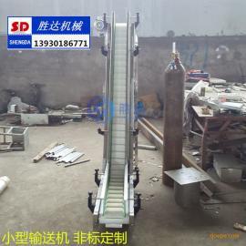 怀宁枞阳小型皮带输送机大米PVC水平耐磨损爬坡输送机厂家直销