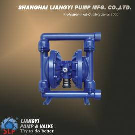 QBY-80F46全衬氟气动隔膜泵|化工隔膜泵