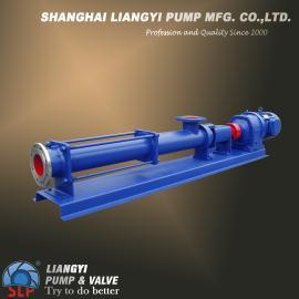 G型螺�U泵|�温�U泵|污泥螺�U泵