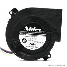 原装NIDEC A35397-35BRA 9733 12V 2.7A大风量鼓风机涡轮PWM风扇