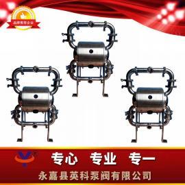 FDA卫生级气动隔膜泵山东省潍坊诸城市食品机械配套