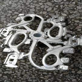 深圳锌合金压铸水口剪切机能成功分离水口如手袋五金扣水口震落