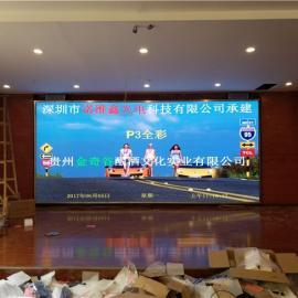 装块15平米全彩p3高清LED显示屏含结构多少钱