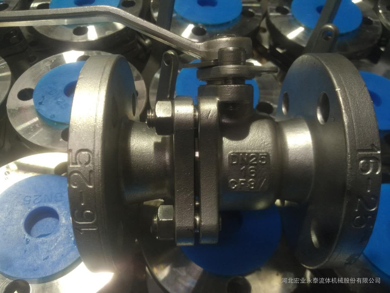 Q41F对夹式法兰球阀 手动球阀 扭矩小 宏业法兰球阀 操作简单