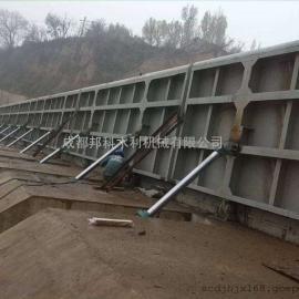 佳木斯钢结构翻板闸门