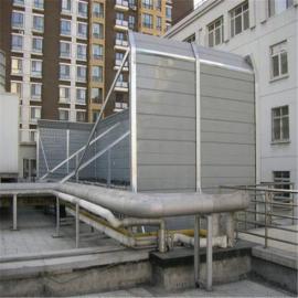 空调机组隔音墙_空调机组隔声屏障_空调机组声屏障安装方案