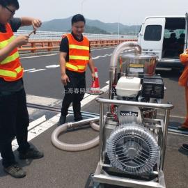 威德尔汽油机工业吸尘器QY-75J移动式道路养护干湿两用吸尘器