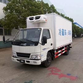 福建4米2冷藏车海鲜鲜奶冷冻车冷链专用车