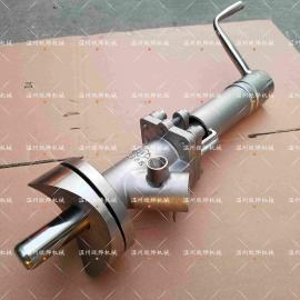 高温柱塞取样阀 高压腐蚀性物料采样阀 手动柱塞采样放料阀