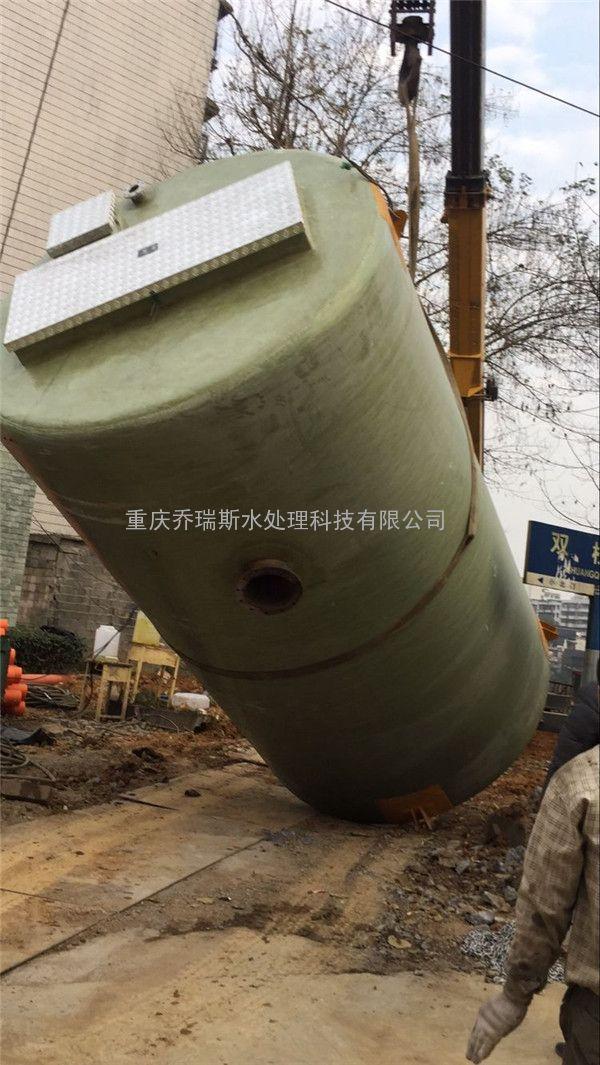 一体化预制泵站 玻璃钢提升泵站 北京厂家批发