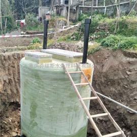 重庆玻璃钢一体化泵站 成套污水处理设备