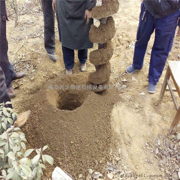 长期供应新型植树挖坑机 昆明市3.2马力打洞机
