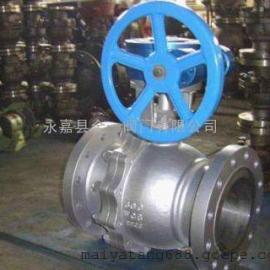 Q347F铸钢固定蜗轮球阀