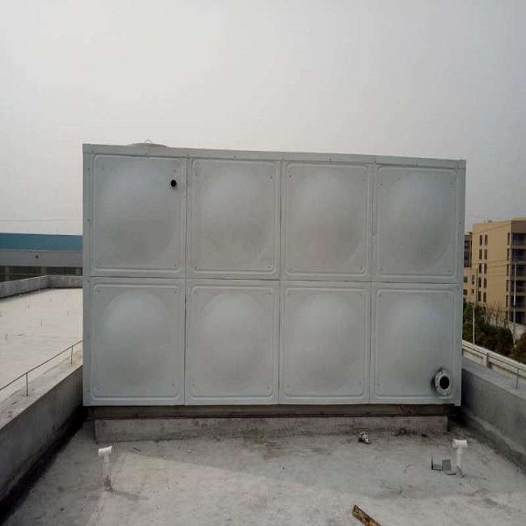 18吨屋顶消防箱泵一体化水箱厂家直销