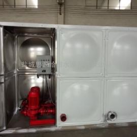 18��屋�消防箱泵一�w化水箱�S家直�N