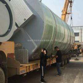 厂家定制φ3.8*8米一体化预制泵站