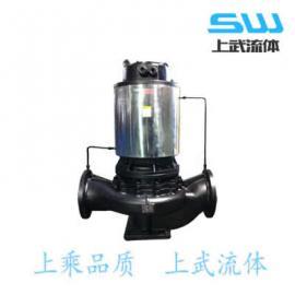 不�P�屏蔽泵 耐腐�g屏蔽泵 屏蔽管道�x心泵 立式屏蔽管道泵