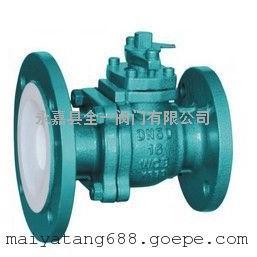 �r氟放料球�yFQ41F46-10C DN40-125