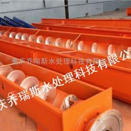 厂家供应 无轴螺旋输送机 耐磨锰钢 高温物料矿砂输送 环保设备