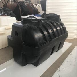 宜昌1吨一次成型塑料化粪池环保化粪池农村旱厕改造三格式