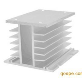 昆二晶供应工业铝型材散热器大功率驱动器L型铝合金型材散热器