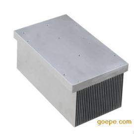 昆二晶风扇散热片降温散热器铝型材模块60*60*22.5MM密齿20齿