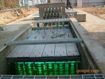 明渠式紫外线消毒消毒排架装置/框架式紫外线消毒装置三年不漏水