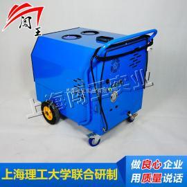 甘肃CWCD04B闯王电驱动蒸汽洗车机 新款柴油蒸汽清洗机多少钱