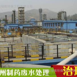 惠州制药医药废水处理设备工作原理详细说明