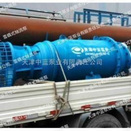 雪橇式潜水轴流泵_用于电站给排水