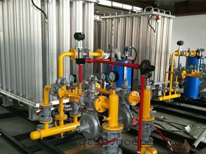LNG气化调压计量撬
