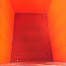 供应惠州800L加厚牛筋水产养殖箱敞口大型方箱周转箱