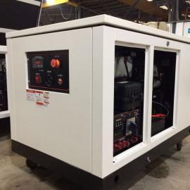 汉萨动力大型多燃料汽油发电机15kw发货甘肃