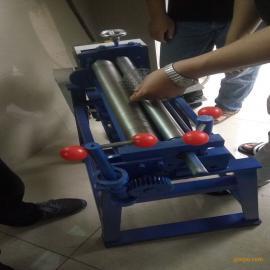 三轴偏三星卷板机 1米滚弧机 镀锌板小型卷圆机