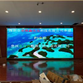 *酒店宴���d���h室高清LED�子大屏幕安�b�S家