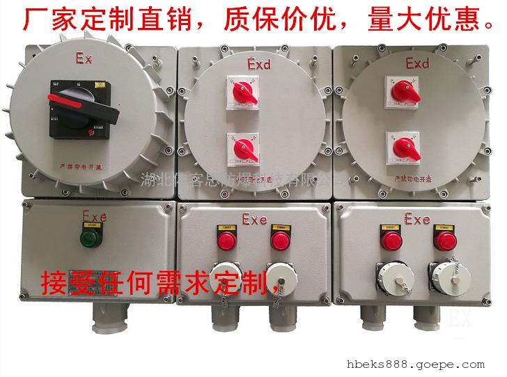BXX-2/100防爆照明配电箱/防爆控制箱/防爆动力配电箱/电磁起动