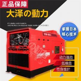400A静音柴油发电电焊机油田焊接使用