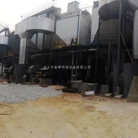 碳素厂沥青焦油粉尘-蜂窝式--电捕焦油器安装范围