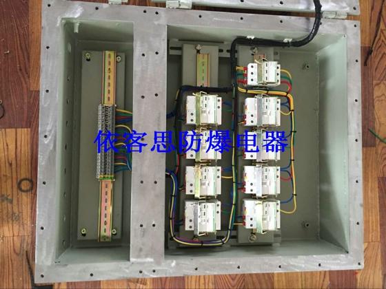 施耐德钢板焊接防爆检修箱