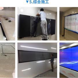北京拼接屏多点触摸屏,弧形拼接屏触控屏,拼接触控框