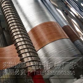 PVC软质复合地板生产线