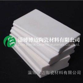 氧化铝耐磨陶瓷衬板厂家 氧化铝耐磨陶瓷衬板用途 博迈供