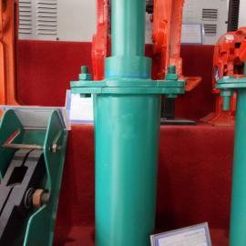 HT2-500底座焊接式弹簧缓冲器 天车弹簧缓冲器 行车防碰头器